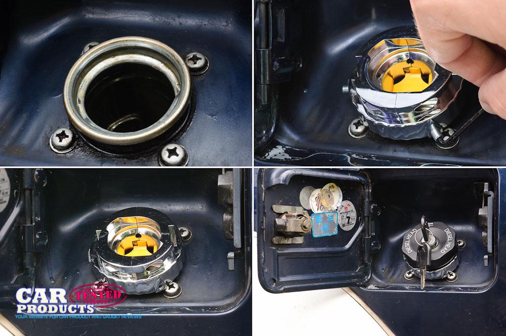 DieselHead misfueling device Quad 001